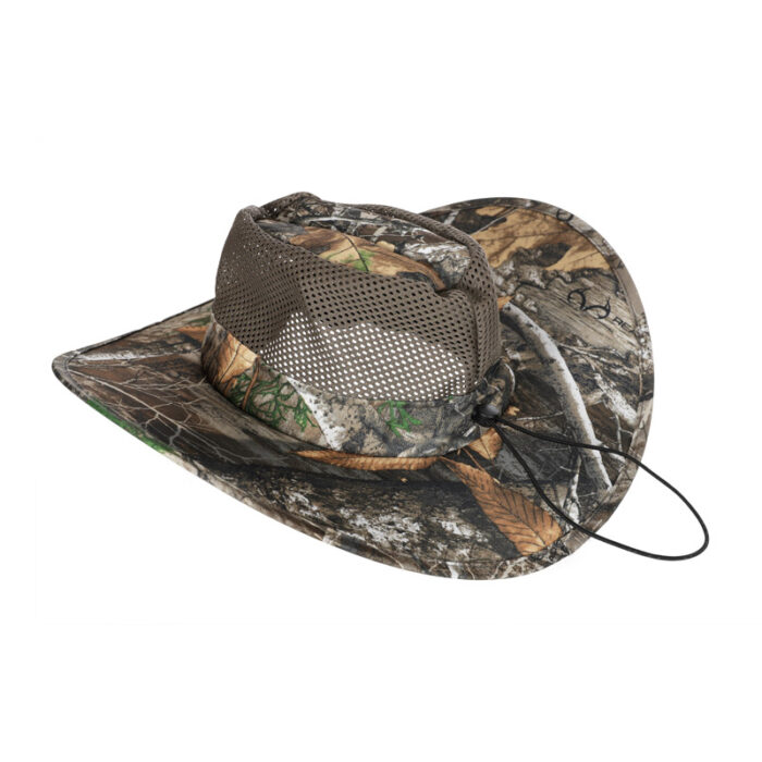 Packable Camo Mens Hat - Side