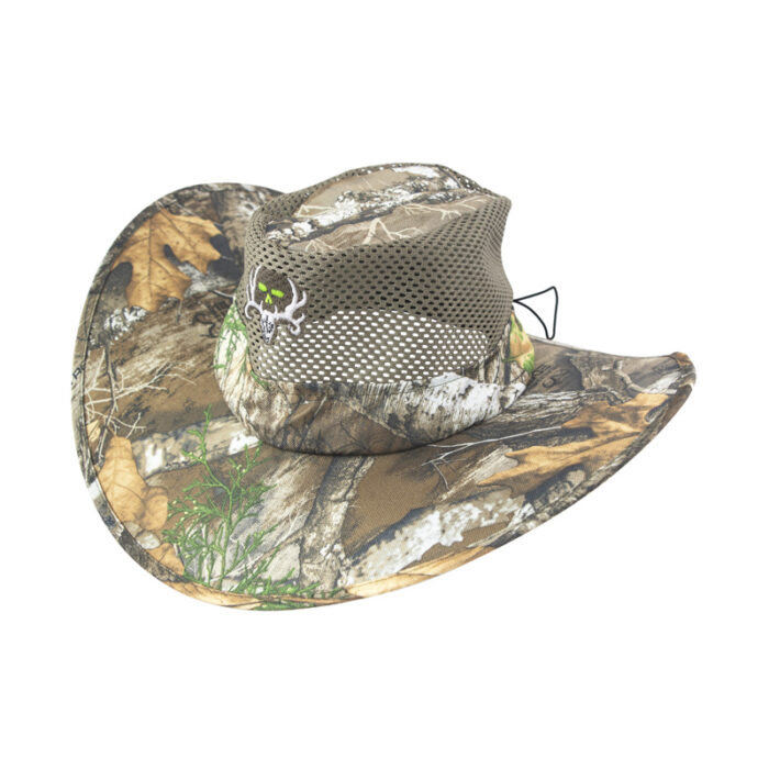 Bone Collector Realtree Edge™ Camo Packable Sun Hat - Skull Logo