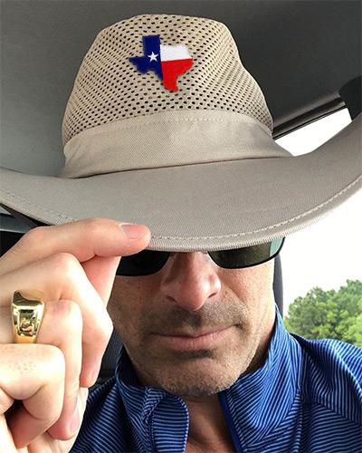 Pop Hat Texas Patch